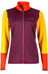 Marmot W's Thirona Stretch Fleece Jacket Dark Purple/Golden Sun